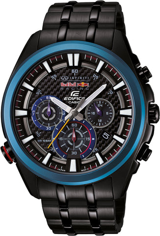 Casio Watch Edifice Red Bull Chronograph