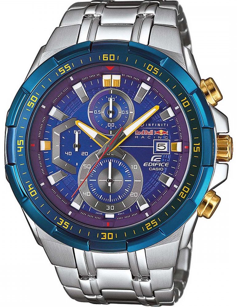 Casio Watch Edifice Alarm Chronograph Red Bull Edition