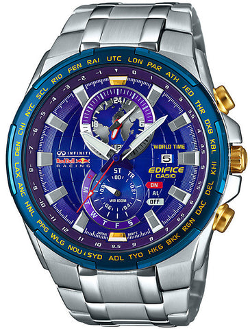 Casio Watch Edifice Alarm Chronograph Red Bull Limited Edition D