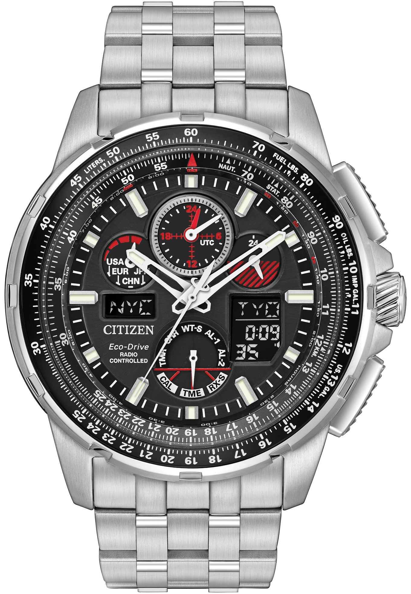Citizen Watch Eco Drive Skyhawk A-T Mens