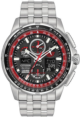 Citizen Watch Eco Drive Red Arrows Skyhawk A-T Mens