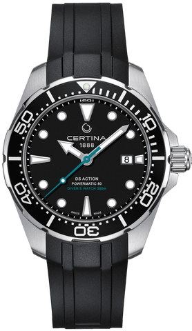 Certina Watch DS Action Diver Powermatic 80 Sea Turtle Conservancy Special Edition
