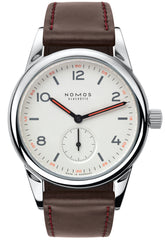 Nomos Glashutte Watch Club Steel Back