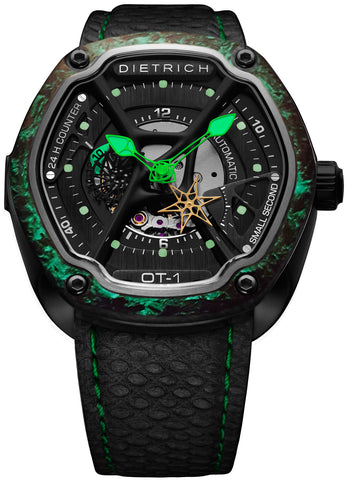 Dietrich Watch OT-1 Carbon Luminescent Mens