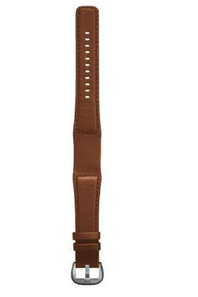 dietrich strap leather tailored tan buckle silver