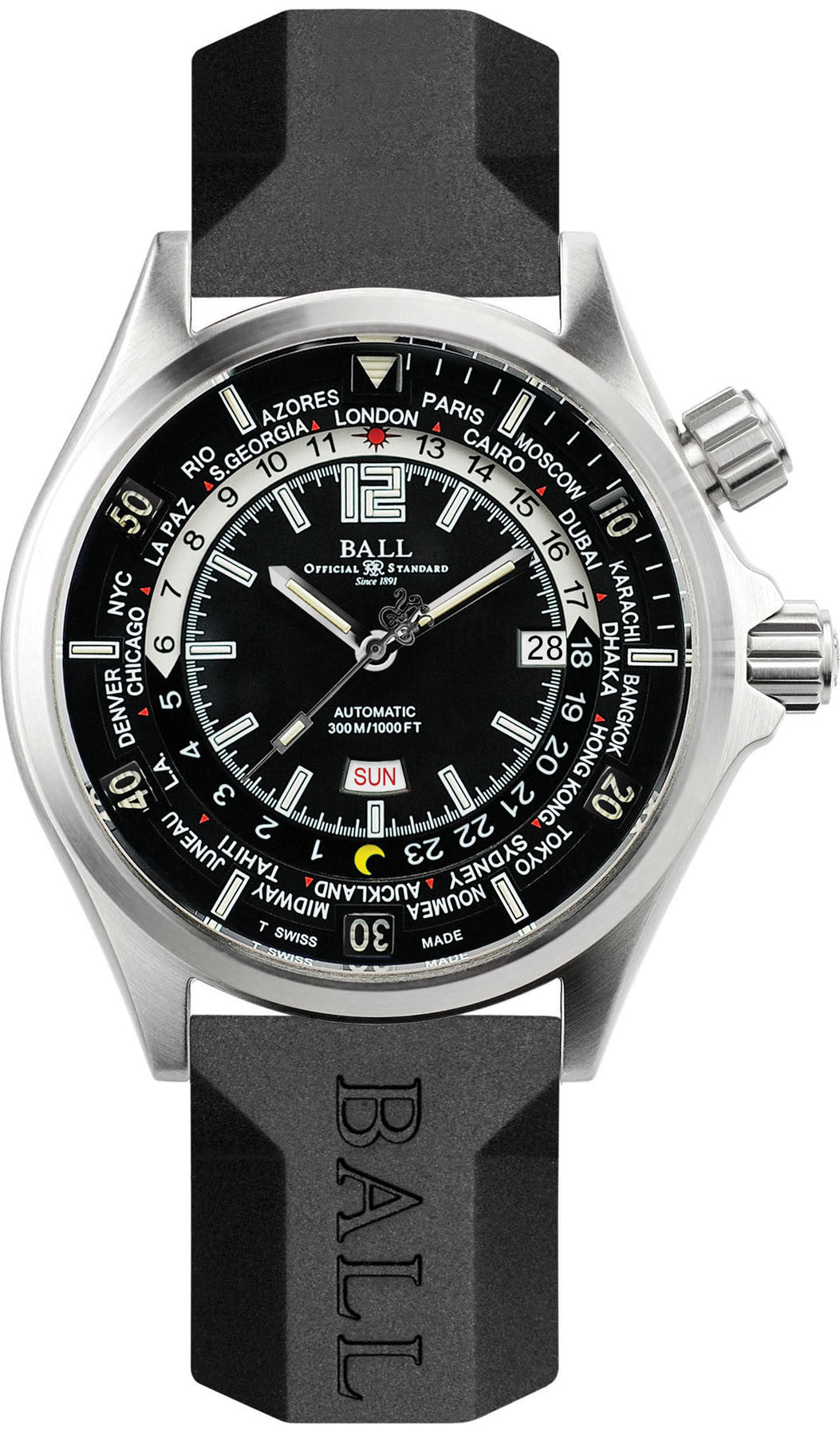 Ball Watch Company Diver Worldtime