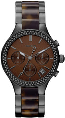 DKNY Watch Glitz Tortoise Ladies D