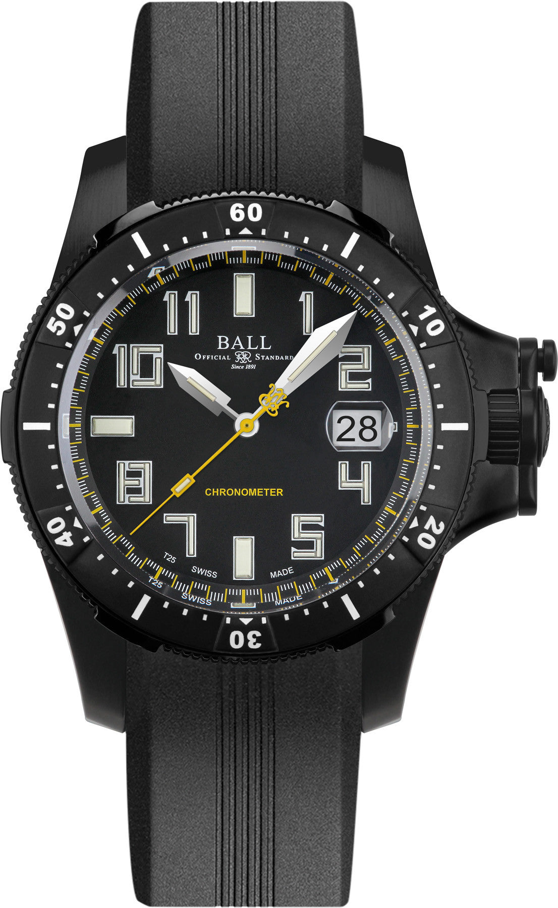 Ball Watch Company Hydrocarbon Black