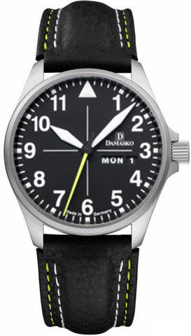 Damasko Watch DA 36 Leather Pin