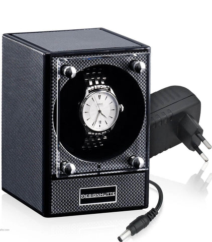 Designhutte Watch Winder Piccolo Carbon