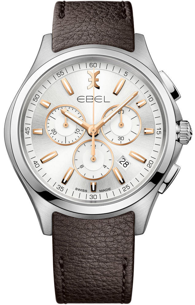 Ebel Watch Wave Chronograph Mens