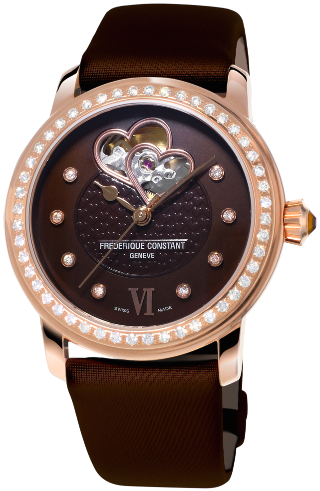 Frederique Constant Watch Double Heart Beat D