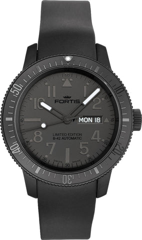 Fortis Watch Cosmonautis Pitch Black Limited Edition