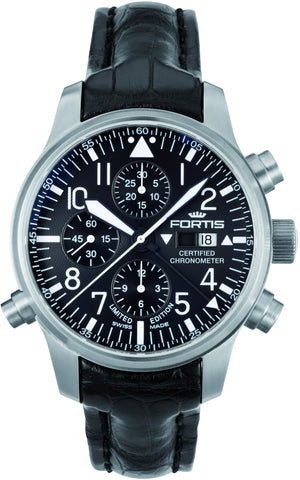 Fortis Watch F-43 Flieger Black Label Limited Edition