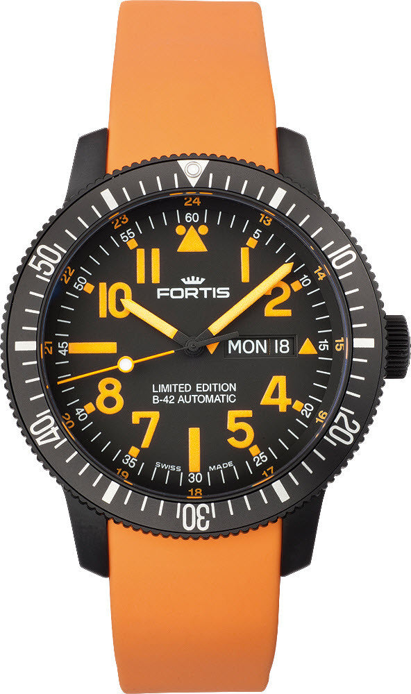 Fortis Watch Cosmonautis Mars 500 Limited Edition D