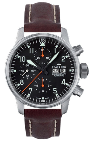 Fortis Watch Aviatis Flieger Classic Chronograph D