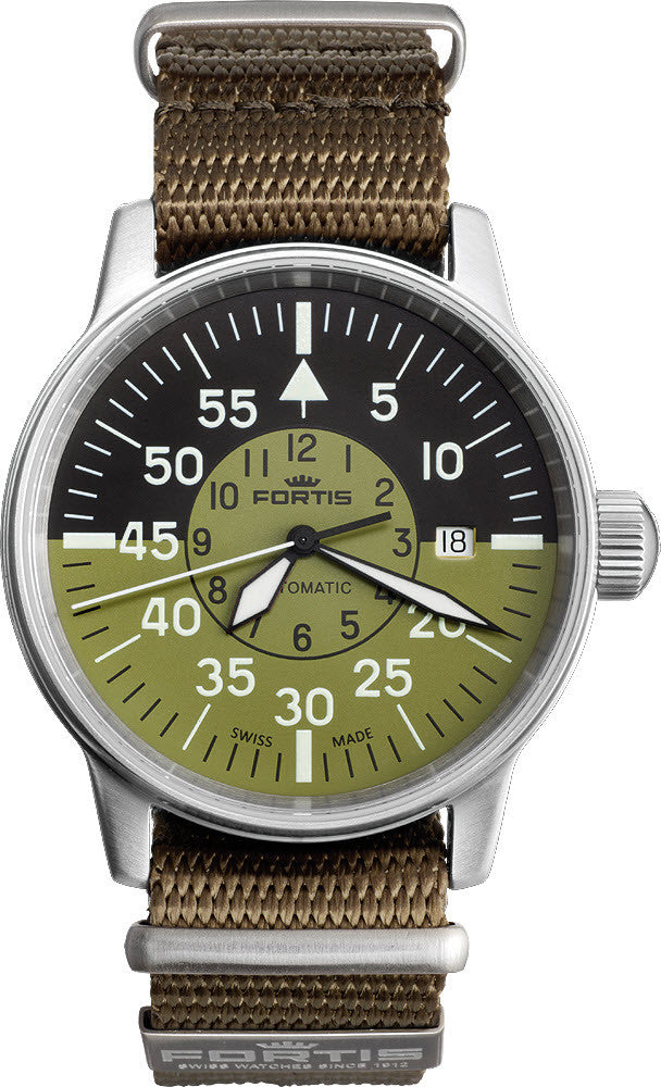 Fortis Watch Flieger Cockpit Date