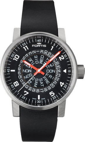 Fortis Watch Cosmonautis Spacematic Counterrotation