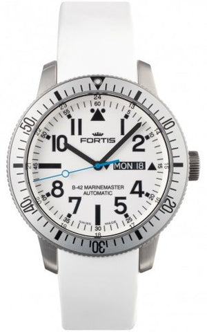 Fortis Watch Aquatis Diver White