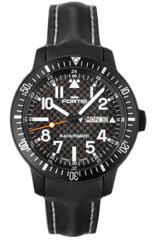 Fortis Watch B-42 Titan Black Day Date
