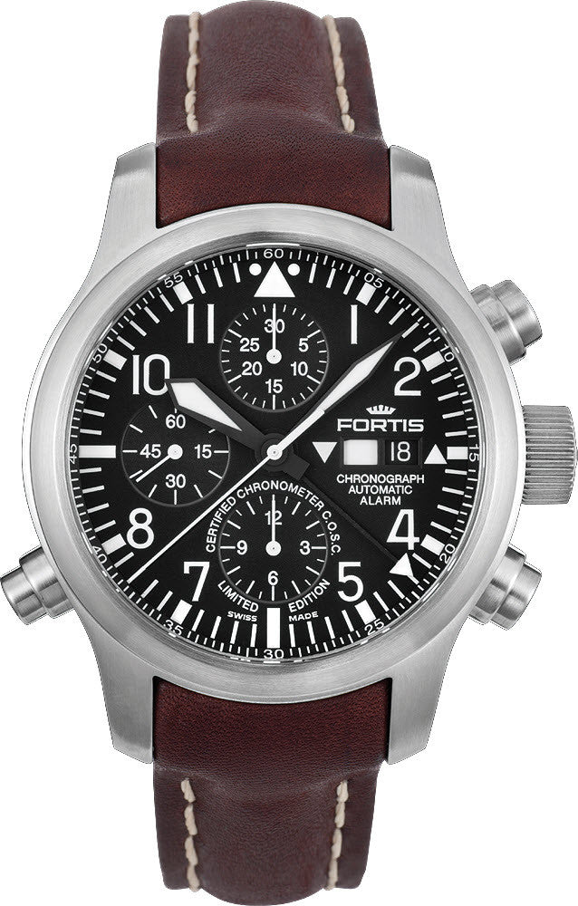 Fortis Watch B-42 Flieger Chronograph Alarm