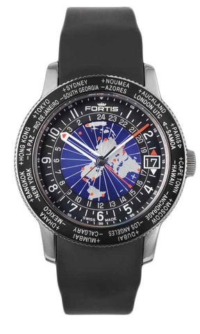 Fortis Watch B-47 World Timer GMT Limited Edition