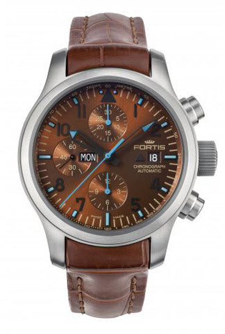 Fortis Watch Aquatis Blue Horizon Chronograph