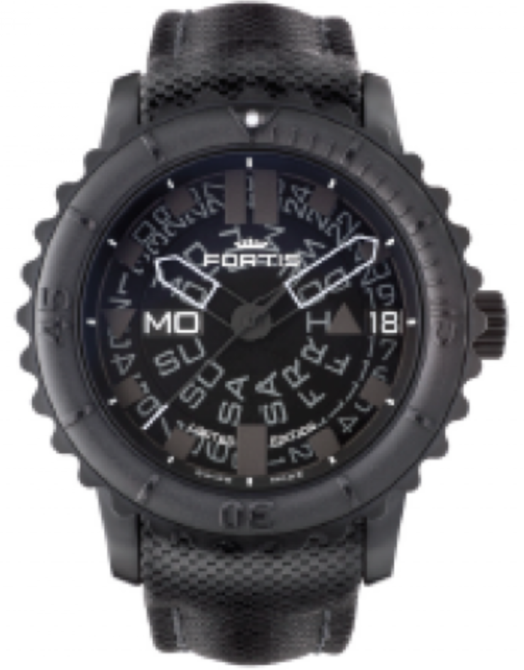 Fortis Watch Aquatis Big Black