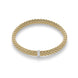 Fope Flex'It Vendome 18ct Yellow Gold Diamond Size M Bracelet. 560B BBRM.