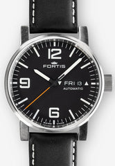 Fortis Watch Cosmonautis Spacematic Steel