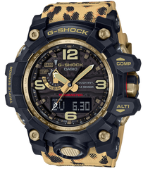 G-Shock Watch Leopard Wildlife