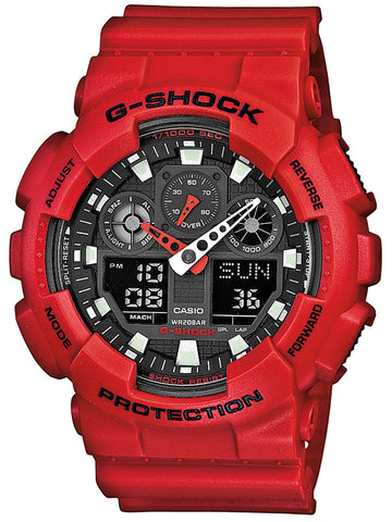 G-Shock Watch Red Oversize