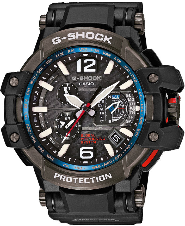 GShock Watch Premium Aviation Alarm Chronograph