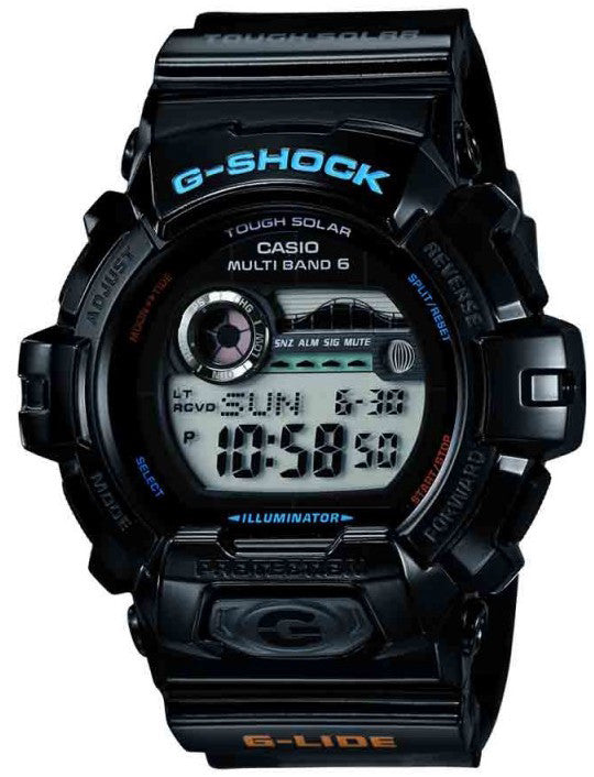 G-Shock Watch Alarm G-Glide Chronograph
