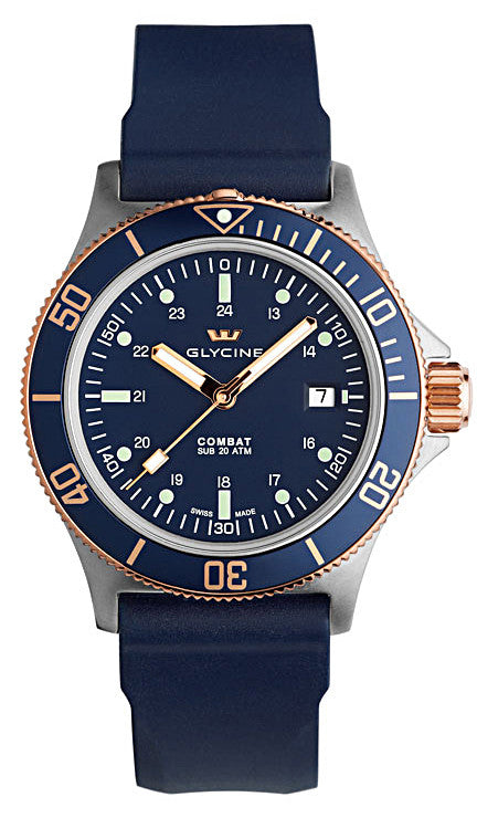 Glycine Watch Combat SUB 2-Tone