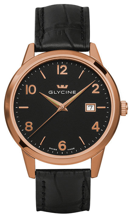 Glycine Watch Classic Quartz Gents