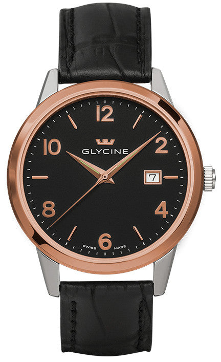 Glycine Watch Classic Quartz Gents D