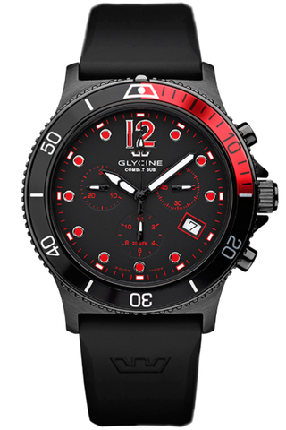Glycine Watch Combat SUB Quartz Chrono
