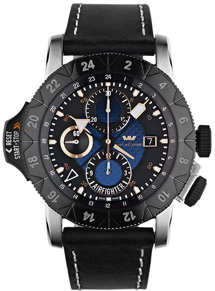 Glycine Watch Airman Airfighter Blue