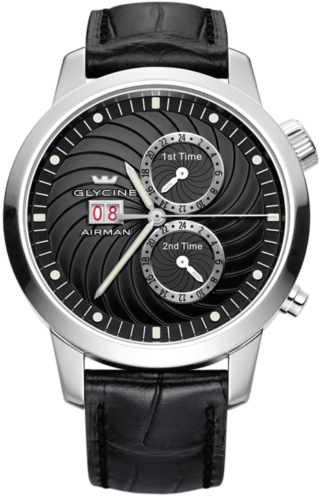 Glycine Watch Airman 7 Black