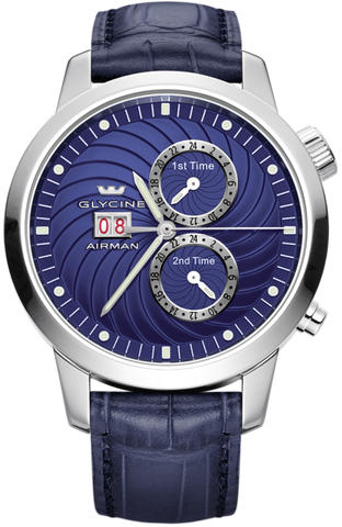 Glycine Watch Airman 7 Blue