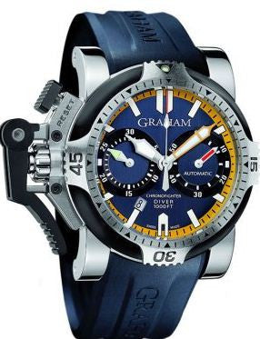 Graham Chronofighter Oversize Diver Date Tech Seal Scarab D