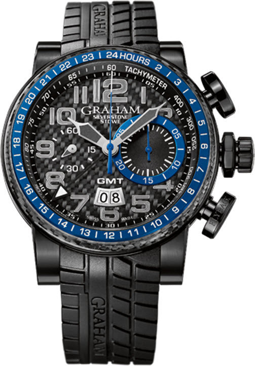 Graham Silverstone Stowe GMT Blue Limited Edition
