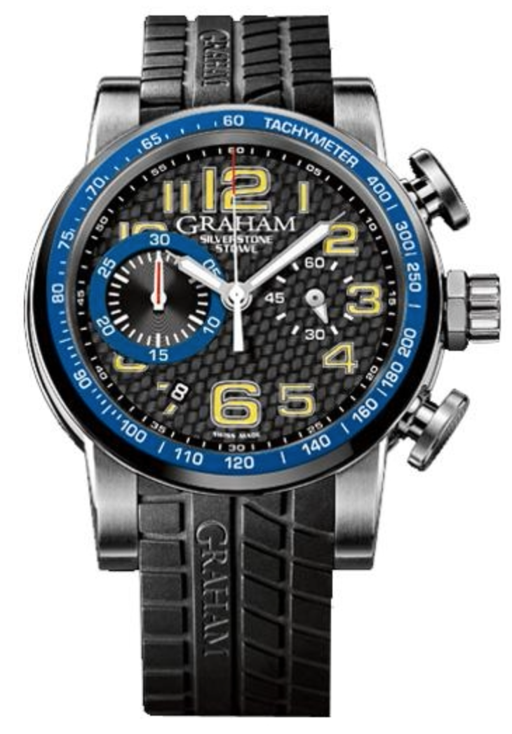 Graham Watch Silverstone Stowe Racing Blue & Yellow