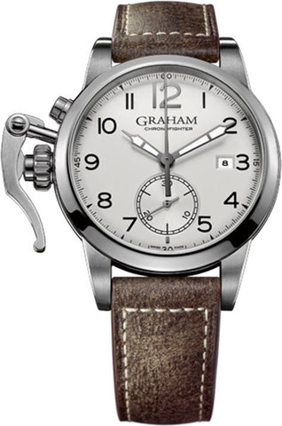 Graham Watch Chronofighter 1695 Europe Arabic White