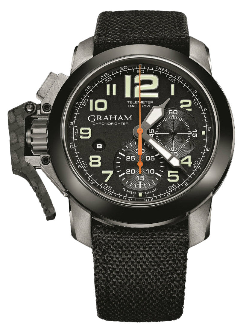 Graham Chronofighter Oversize Ceramic Bezel D