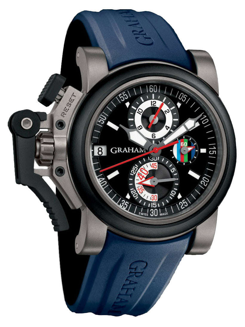 Graham Chronofighter Oversize Referee Blue D