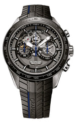 Graham Watch Silverstone RS Skeleton Blue Limited Edition