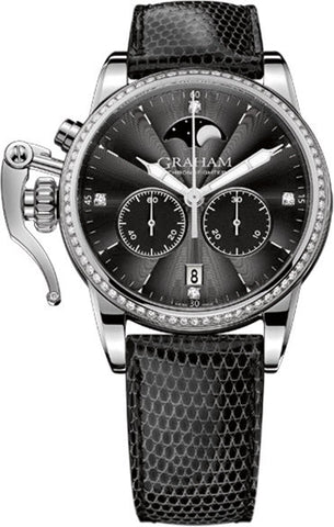 Graham Watch Chronofighter 1695 Lady Moon Diamond