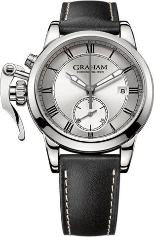 Graham Watch Chronofighter 1695 Silver